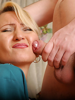 Horny guy takes out anal beads shoving his meaty pecker.. MomsGiveAss :: Ottilia&Vitas horny mom gives ass