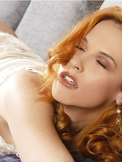 Sexy redhead Chrissy Daniels is exactly what you are in need of when you are looking for that release. She is so hot..