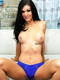 Sexy Kendall Karson sucks cock and takes a cumload