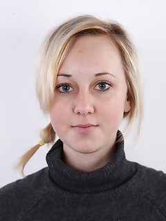 Take a careful look at this blonde named Lucie who earned the main role in todays CzechCasting. What do you say? Shes..