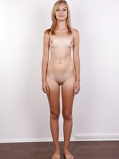 Another young girl gifted by mother nature. Iva is a wannabe model and she would like to become underwear and act..