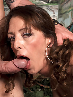 This Is What A Small-town Milf Does For Fun. Blowjob, Cumshot