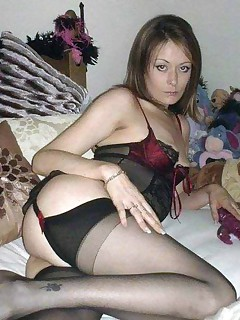 Nice collection of a wild kinky tattooed amateur MILF