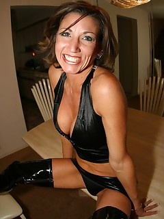 Naughty and wild MILF being a tease