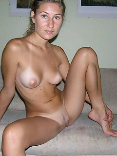 Nice compilation of a hot naked wife spreading