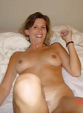 Smoking MILF Diane with hairy pussy sucks and fucks
