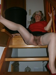 looking for as I put on my sexy lingerieOn the stair step I have to finger myself andmassage my hairy pussyIts a great..