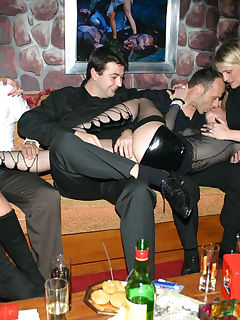 Pictures of a group of hot and wild party housewives Hot and wild party housewives