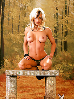 Playboys Joey LePage shoes her personal tranier body in the nude.